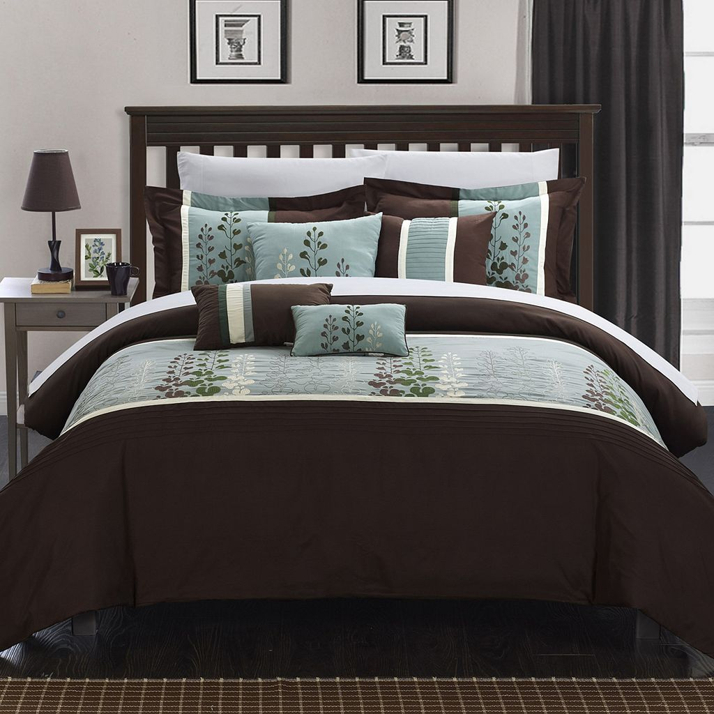 Chic Home Evan 12-piece Oversized Bed Set