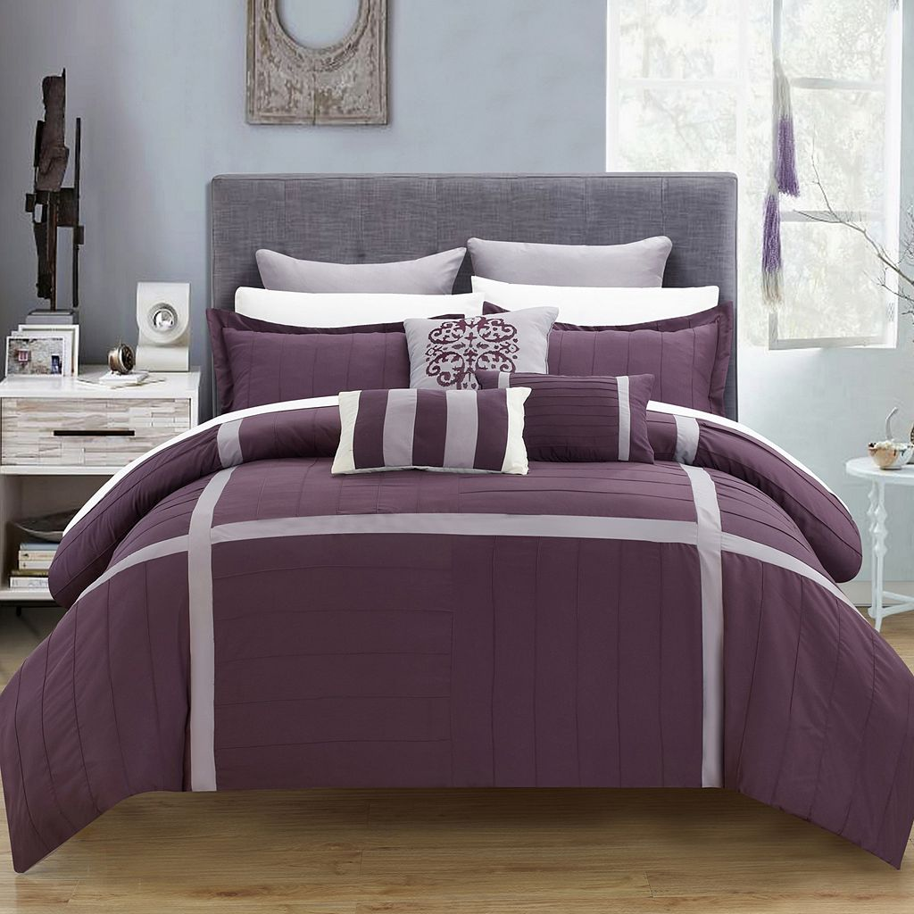 Chic Home Vera 8-piece Oversized Bed Set