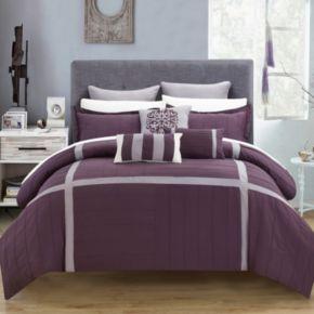 Chic Home Vera 8-piece Oversized Bed Set