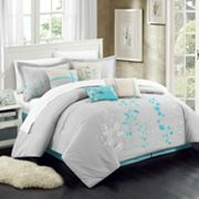 Chic Home Bliss Garden 8 pc Oversized Bed Set