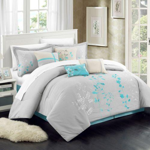 Home Bliss Garden 8 piece Oversized Bed Set