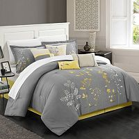 Chic Home Bliss Garden 8-piece Oversized Bed Set