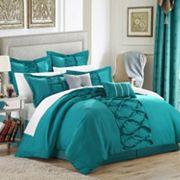 Chic Home Elegant Ruth 8 pc Bed Set