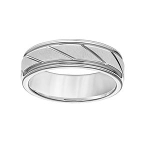 Simply Vera Vera Wang Tungsten Carbide Men's Wedding Band