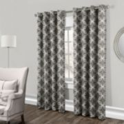 Exclusive Home 2-pack Modo Metallic Window Curtains - 54'' x 84''