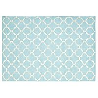 Safavieh Dhurries Diamond Quatrefoil Handwoven Flatweave Wool Rug