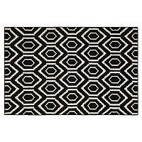Safavieh Dhurries Flat Hex Handwoven Flatweave Wool Rug