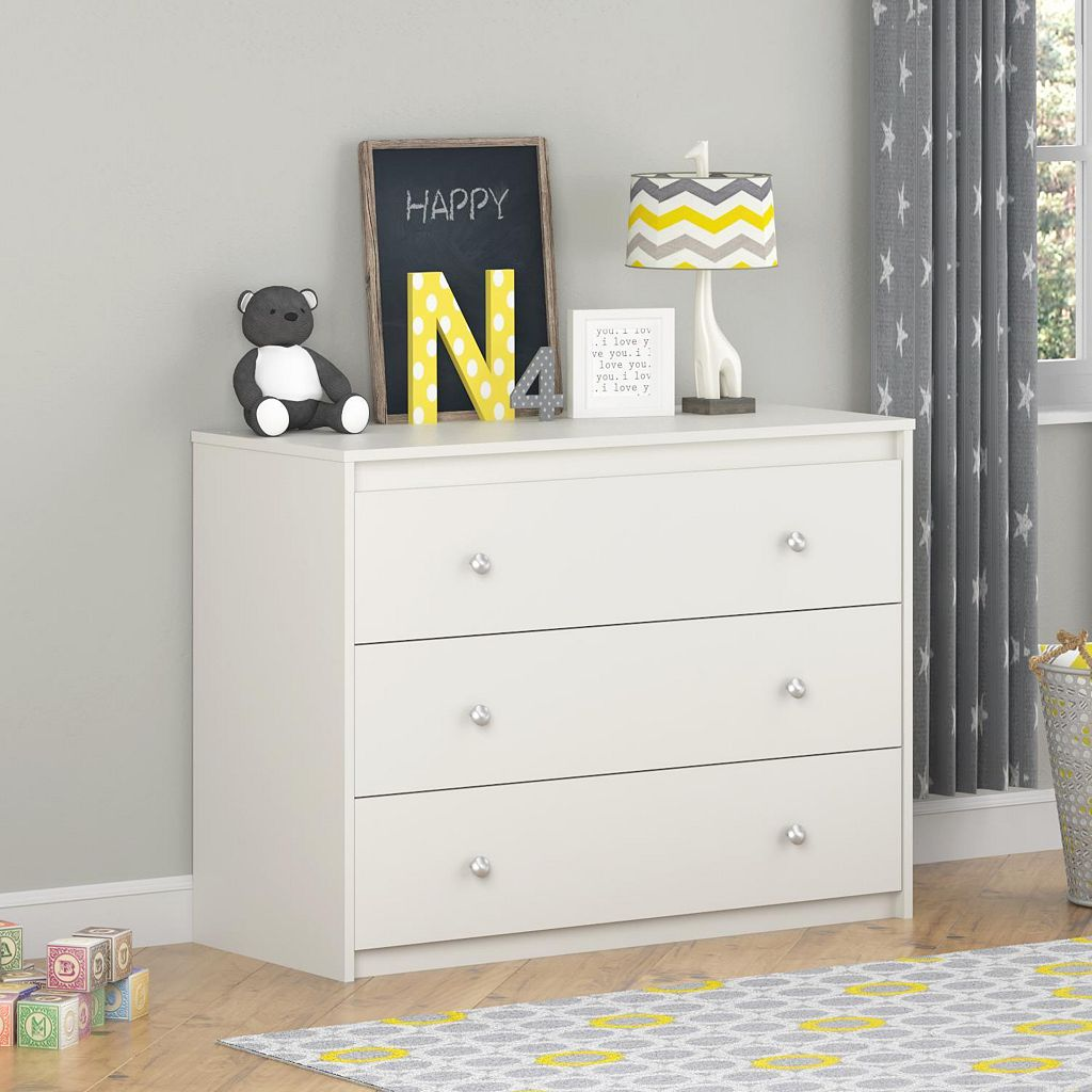 Cosco Elements Collection 3-Drawer Dresser