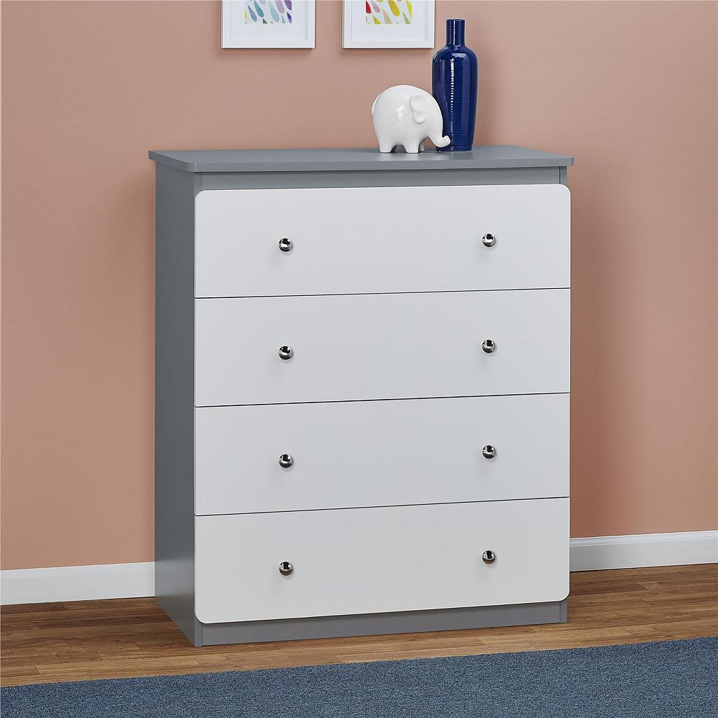 Cosco Willow Lake 4-Drawer Dresser