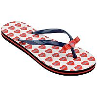 Women's Ole Miss Rebels Bow Flip-Flops