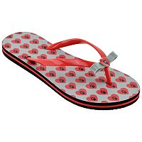 Women's New Mexico Lobos Bow Flip-Flops