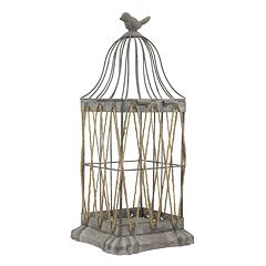 Stonebriar Collection Vintage Birdcage Lantern