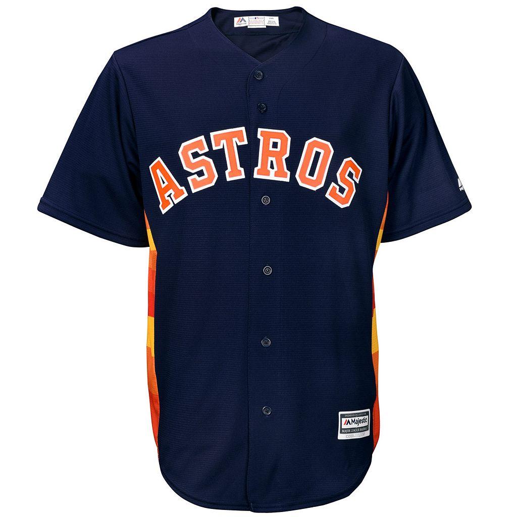Men's Majestic Houston Astros Replica MLB Jersey