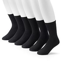 Men's Tek Gear® 6-pack Crew Socks