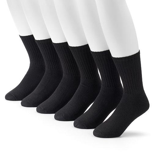 Men's Tek Gear® 6-pack Crew Socks