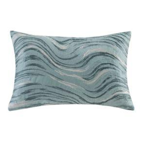 Metropolitan Home Marble Oblong Throw Pillow