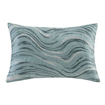 Metropolitan Home Marble Oblong Throw Pillow