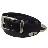 Men's PGA Tour Etched-Accent Leather Golf Belt