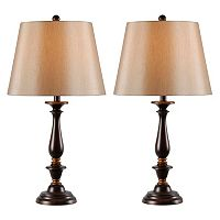Kenroy Home 2 pc Gavin Table Lamp Set