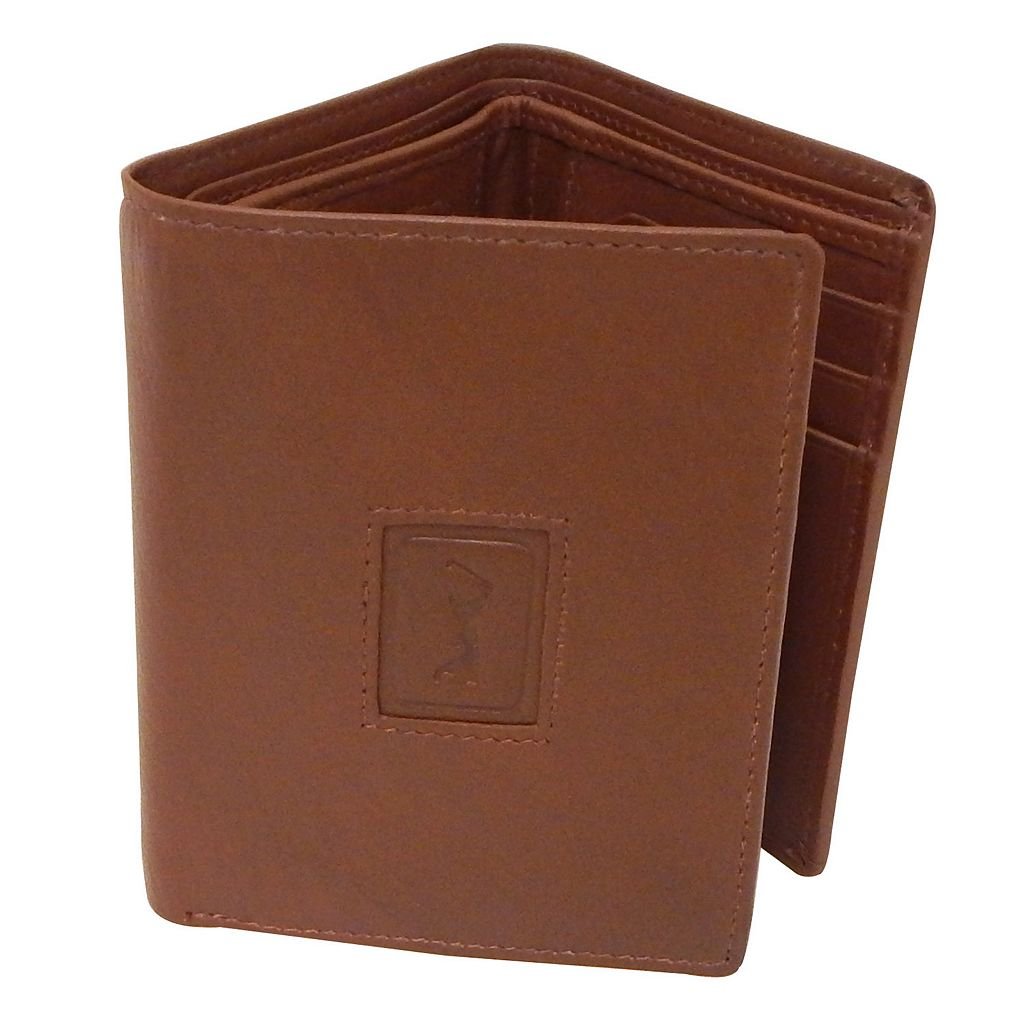 Men's PGA Tour Leather Trifold Wallet