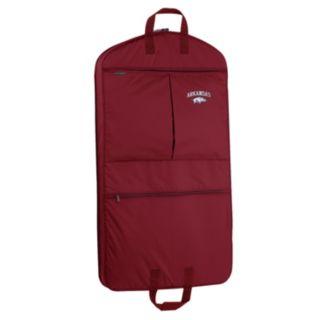 WallyBags Arkansas Razorbacks 40-Inch Pocketed Garment Bag