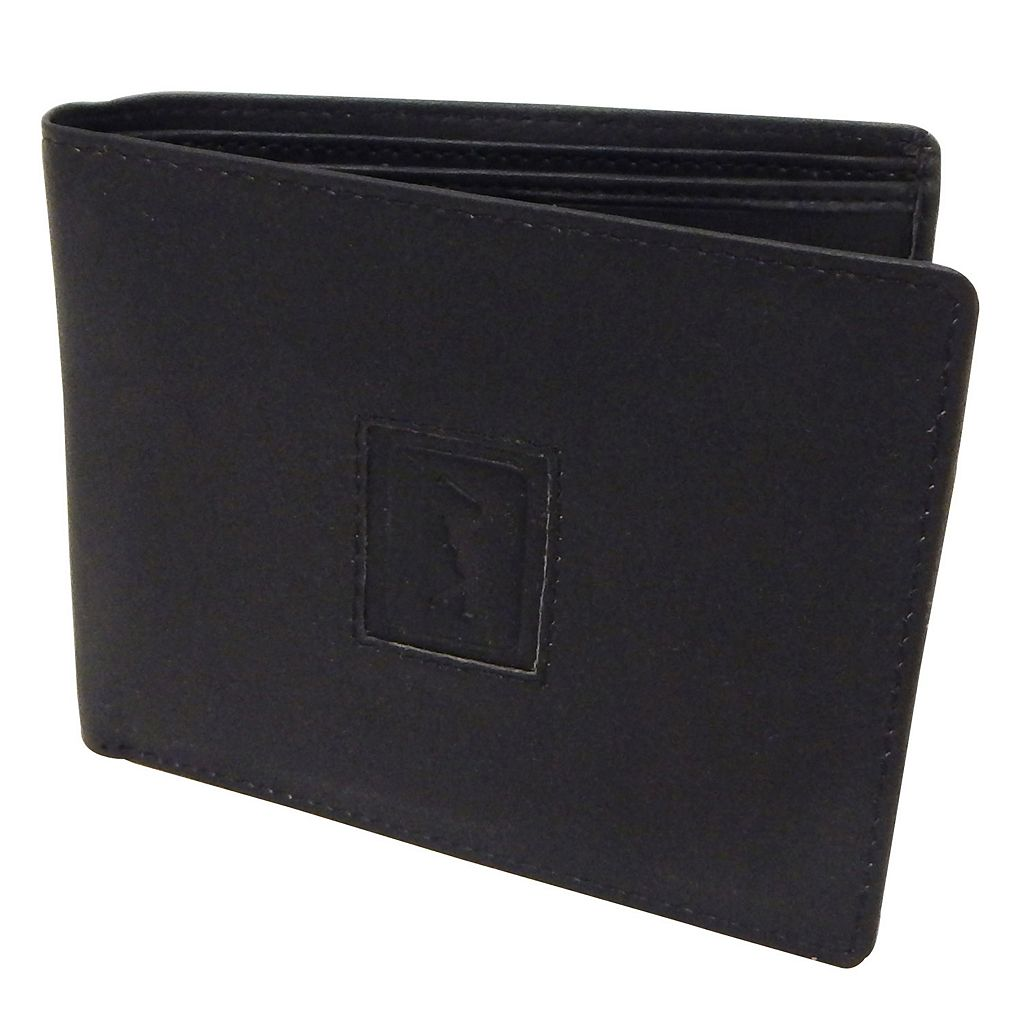 Men's PGA Tour Leather Bifold Wallet