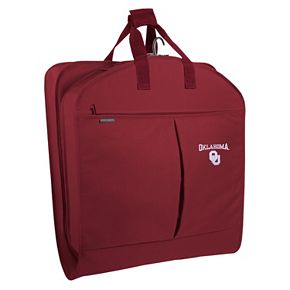 WallyBags Oklahoma Sooners 40-Inch Pocketed Garment Bag