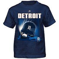 Boys 4-7 Majestic Detroit Tigers Helmet Tee