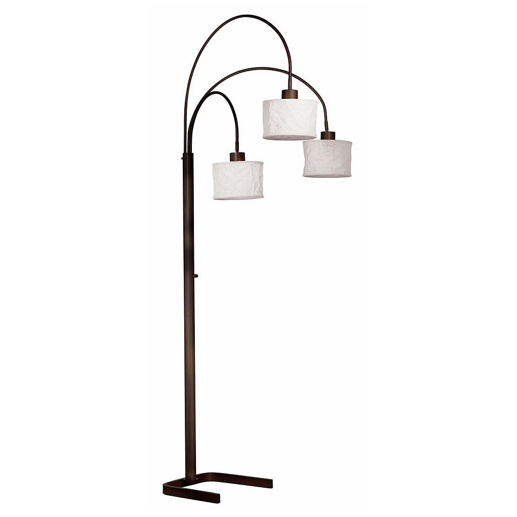 Kenroy Home Crush 3-Light Arc Lamp
