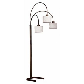 Kenroy Home Crush 3-Light Arc Lamp