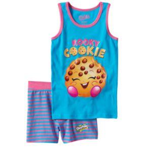 Girls 4-10 Shopkins Kooky Cookie Pajama Set