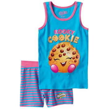 Girls 4-10 Shopkins Kooky Cookie Pajama Set