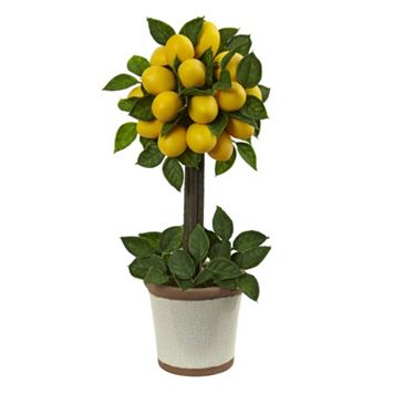 nearly natural Artificial Lemon Tree
