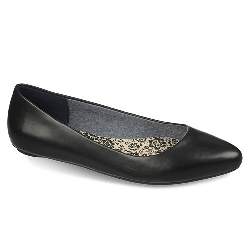 Dr. Scholl's Really Women's Leather Ballet Flats