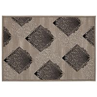 Nourison SOHO Scroll Fans Geometric Rug