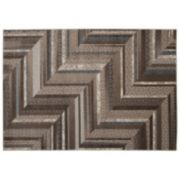 Nourison SOHO Contemporary Zags Geometric Rug