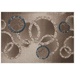 Nourison SOHO Contemporary Circles Geometric Rug