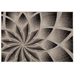 Nourison SOHO Contemporary Petals Geometric Rug