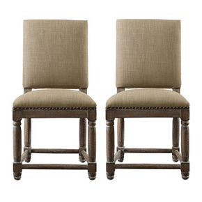 Madison Park Cirque Dining Chair 2 Piece Set Kohls