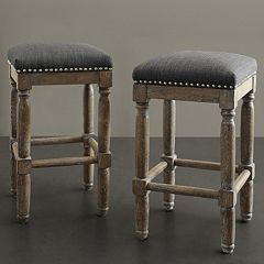 Madison Park Cirque Stool 2-piece Set