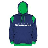 Big & Tall Majestic Seattle Seahawks Hoodie