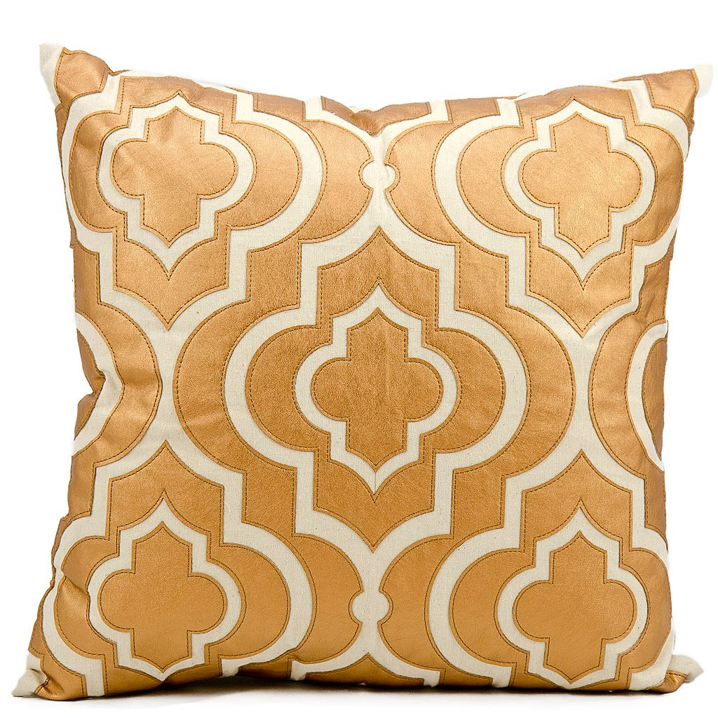 Mina Victory Luminescence Laser-Cut Lantern Throw Pillow