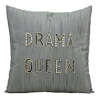 Mina Victory Luminescence ''Drama Queen'' Beaded Throw Pillow
