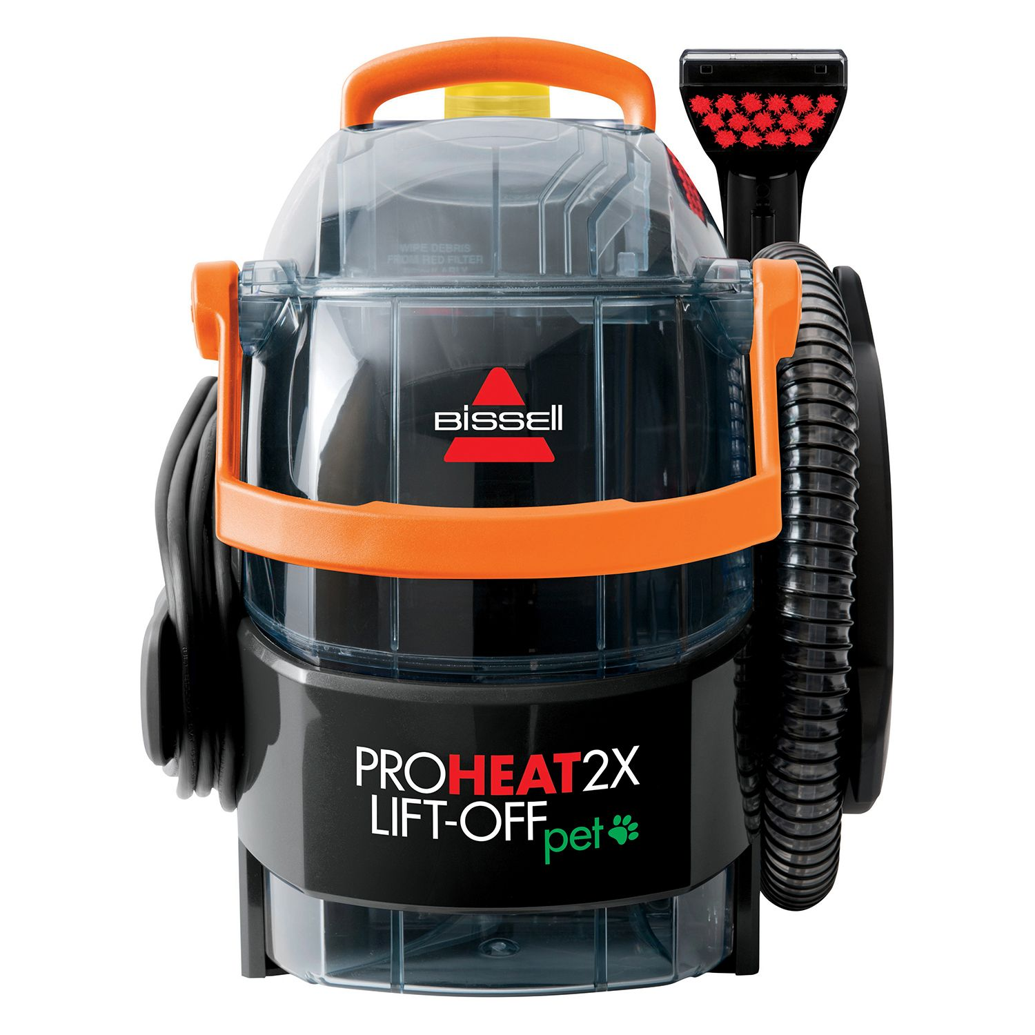 bissell proheat 2x liftoff pet upright carpet cleaner