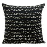 Mina Victory Luminescence Wavy Rhinestones Beaded Throw Pillow