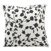 Mina Victory Luminescence Floral Beaded Throw Pillow