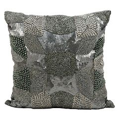 Mina Victory Luminescence Antique Beaded Throw Pillow