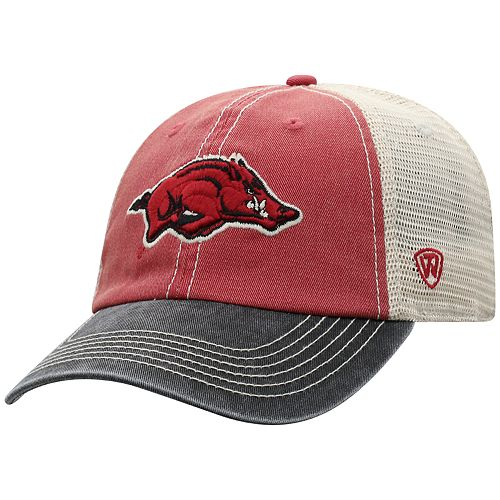 9beefba69ac Adult Top of the World Arkansas Razorbacks Offroad Cap