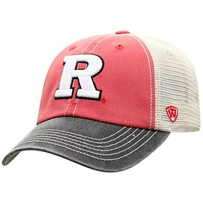 Adult Top of the World Rutgers Scarlet Knights Offroad Cap