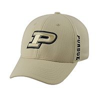 Adult Top of the World Purdue Boilermakers Booster One-Fit Cap